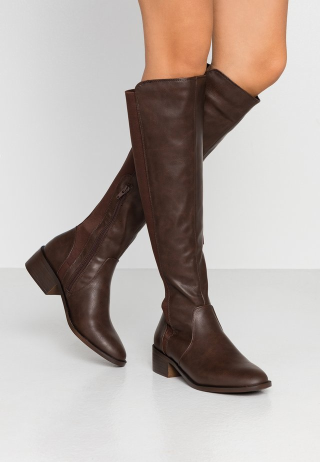 ANGELINA - Boots - mid brown