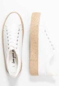 New Look - MHOY - Espadrillot - white - 3