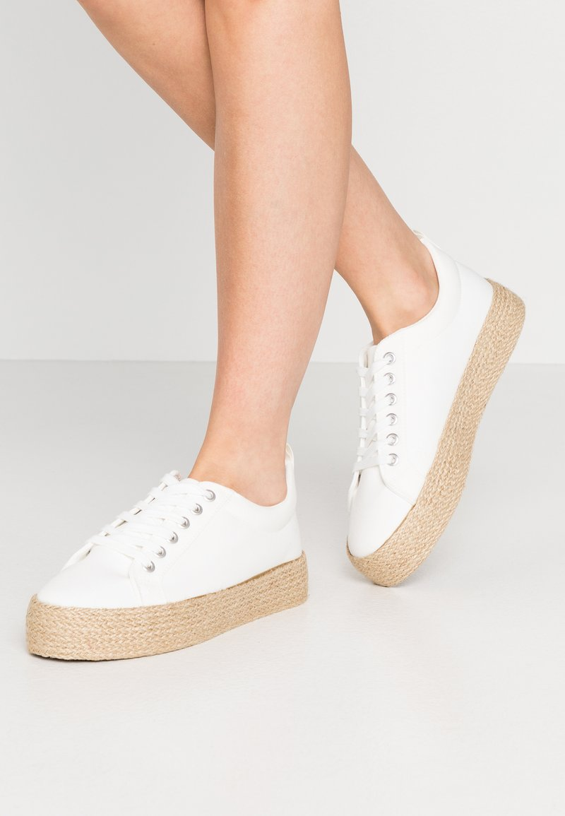 New Look - MHOY - Espadrillot - white