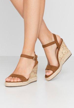 PERTH - High Heel Sandalette - tan