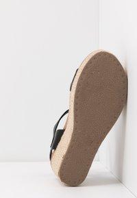 New Look - PICKLE - Højhælede sandaletter / Højhælede sandaler - black - 6