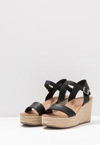 New Look - PICKLE - Højhælede sandaletter / Højhælede sandaler - black - 4