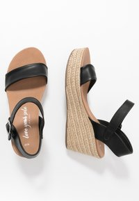 New Look - PICKLE - Højhælede sandaletter / Højhælede sandaler - black - 3