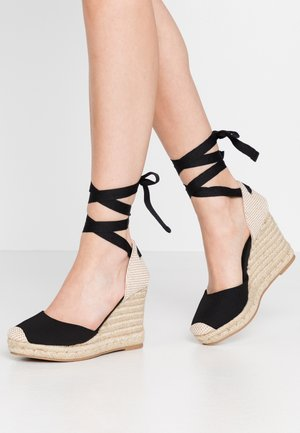 TRINIDAD - High heeled sandals - black