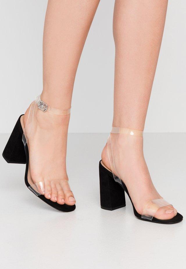 TOKA - High heeled sandals - black