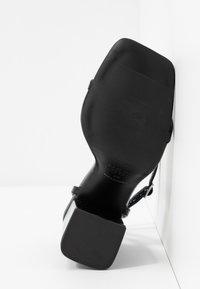 New Look - TRINCE - Sandalen met hoge hak - black - 6