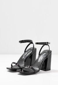New Look - TRINCE - Sandalen met hoge hak - black - 4