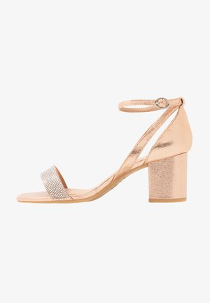 TIBBY - Sandals - rose gold