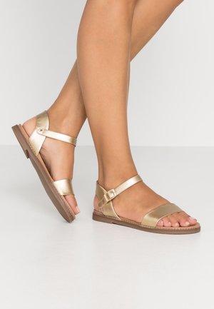 GOLDIE - Sandals - gold