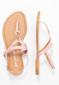 New Look - HOOPER - Flip Flops - light pink - 1