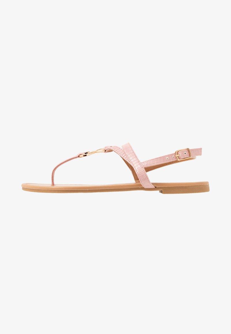 New Look - HOOPER - Tongs - light pink