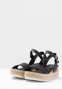New Look - POMPER - Espadrilky - black - 4