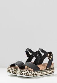 New Look - PARRAMELLA - Sandály na platformě - black - 4