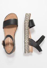 New Look - PARRAMELLA - Sandály na platformě - black - 3