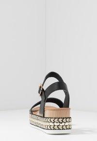 New Look - PARRAMELLA - Sandály na platformě - black - 5