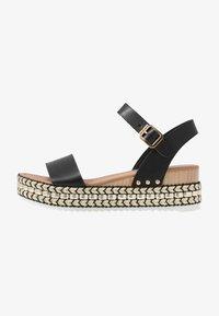 New Look - PARRAMELLA - Sandály na platformě - black - 1