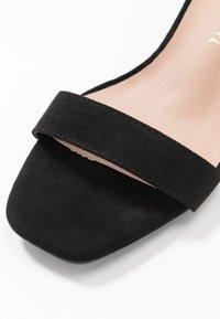 New Look - ZANIEL - Sandales - black - 2