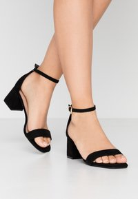 New Look - ZANIEL - Sandals - black - 0