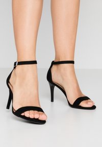 New Look - High heeled sandals - black - 0