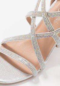 New Look - UDELLA - Sandaler med høye hæler - silver - 2