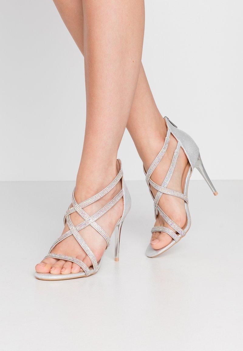 New Look - UDELLA - Sandaler med høye hæler - silver