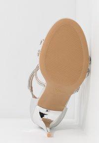 New Look - UDELLA - Sandaler med høye hæler - silver - 6