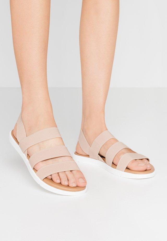 GUNNER - Sandals - oatmeal