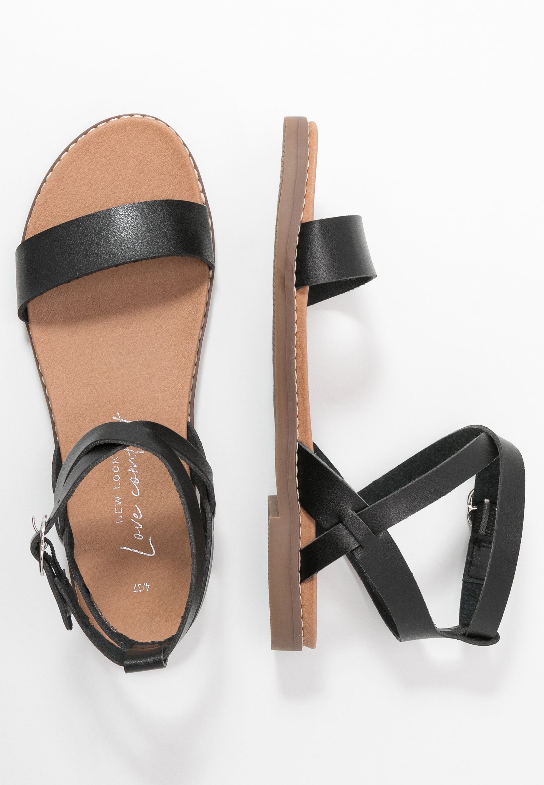 New Look FIFI - Riemensandalette - black DkMPwu