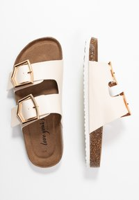 New Look - HALLIE - Slippers - offwhite - 3