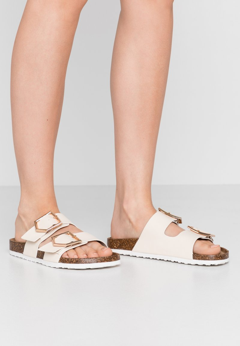 New Look - HALLIE - Slippers - offwhite