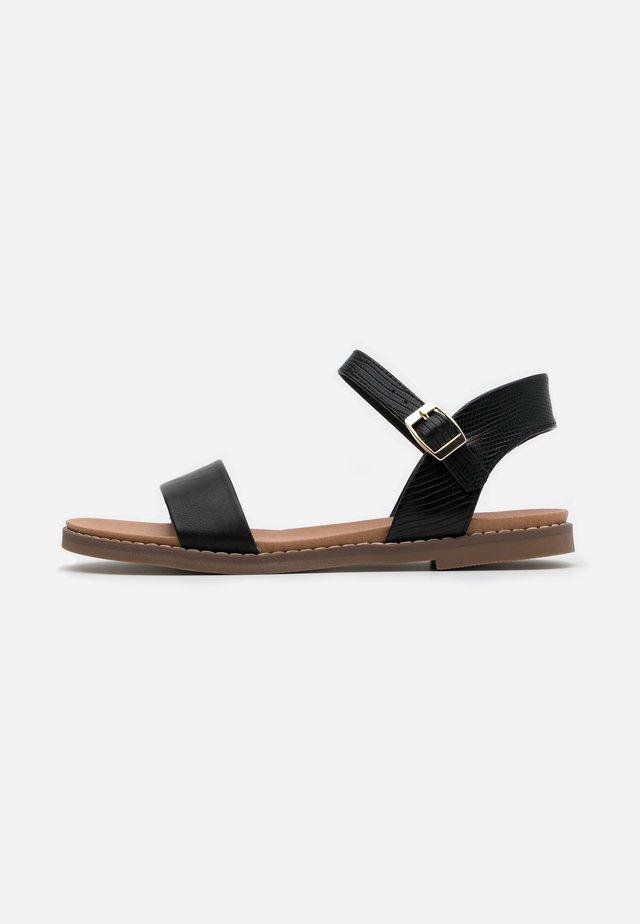 GOLDIE - Sandals - black