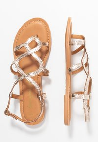 New Look - FILLY - T-bar sandals - gold - 3