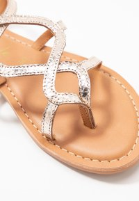 New Look - FILLY - T-bar sandals - gold - 2