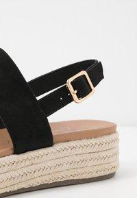 New Look - CUTE - Espadrilles - black - 2