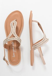 New Look - FLASHLIGHT - Teensandalen - oatmeal - 3