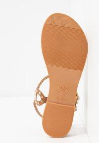 New Look - GALLY - T-bar sandals - tan - 6