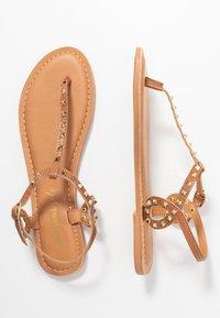 New Look - GALLY - T-bar sandals - tan - 3