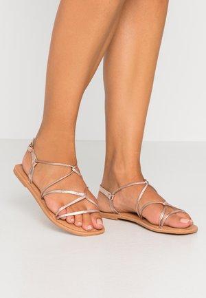 FINE - Sandals - rose gold