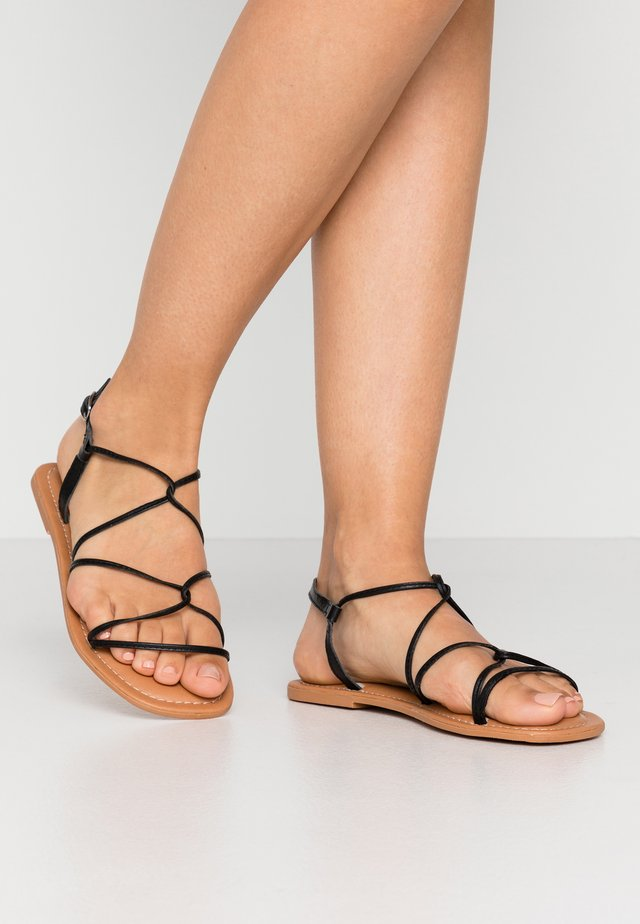 FINE - Sandals - black