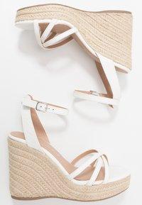 New Look - PEDGER - Sandalen met hoge hak - white - 3