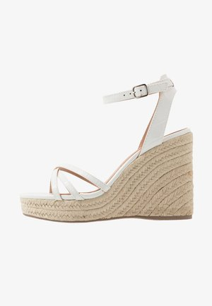 PEDGER - High heeled sandals - white
