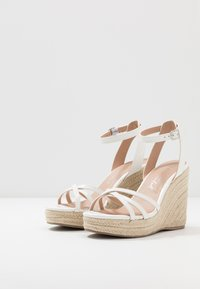 New Look - PEDGER - Sandalen met hoge hak - white - 4