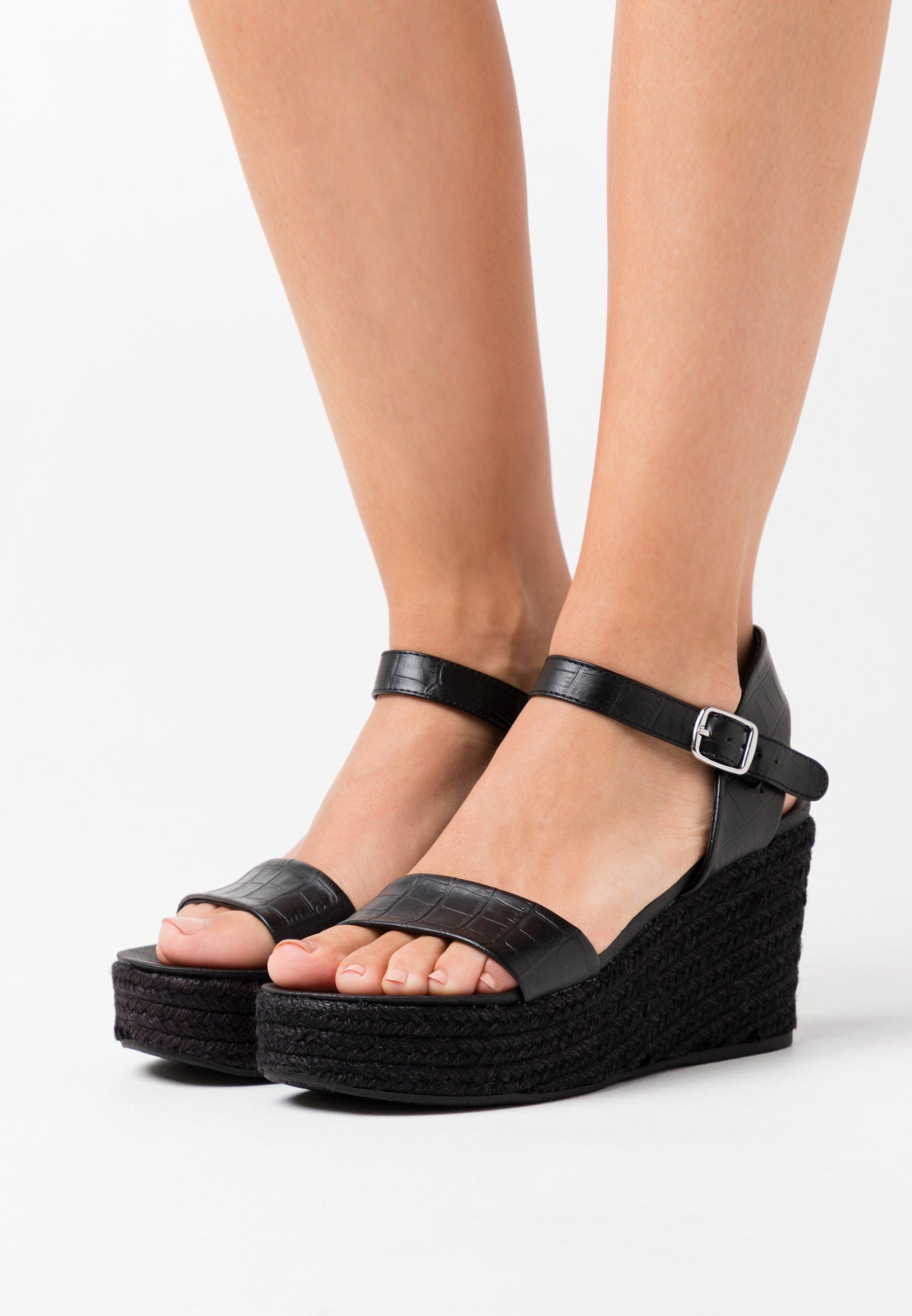 Aankoop Best Verkopende Damesschoenen PsdkjGXhisd New Look PICKLE WEDGE Sandalen met plateauzool black GjLV804