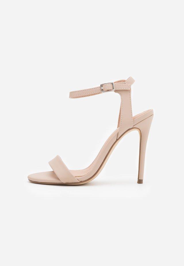 URBAN STILETTO  - High heeled sandals - oatmeal