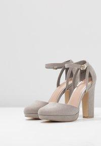 New Look - SUZANNE - Zapatos altos - mid grey - 4