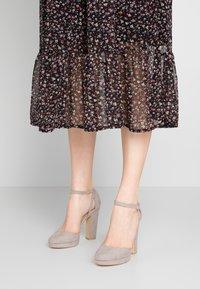 New Look - SUZANNE - Zapatos altos - mid grey - 0