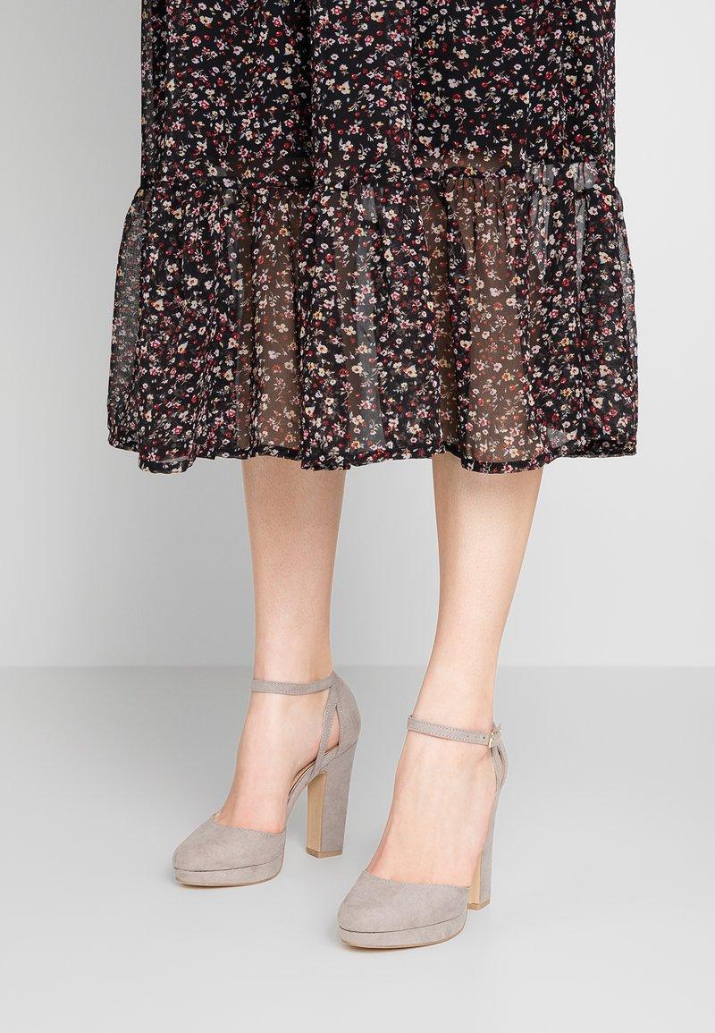 New Look - SUZANNE - Zapatos altos - mid grey