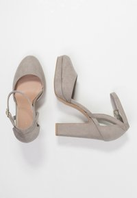 New Look - SUZANNE - Zapatos altos - mid grey - 3