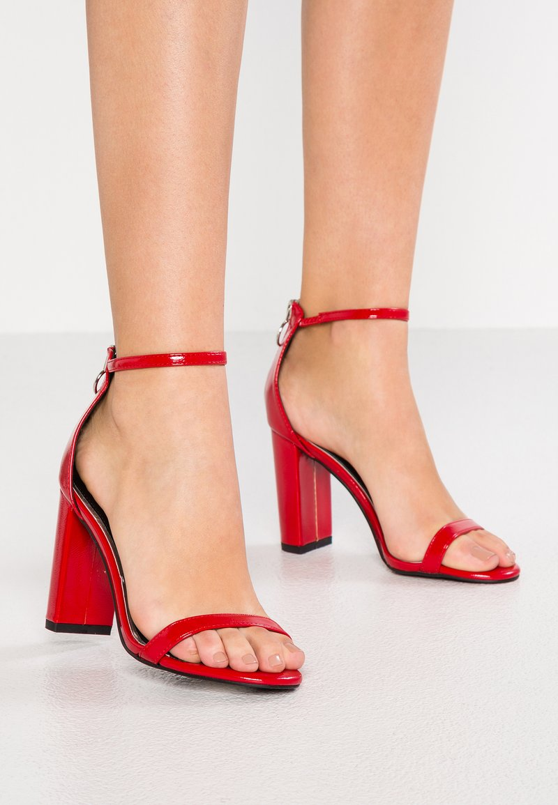 New Look - SHEEK - High Heel Sandalette - bright red