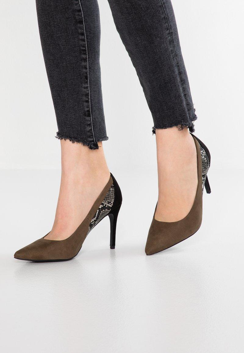 New Look - RULING - High heels - green